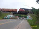 CN Crossing Over Lakeshore Drive